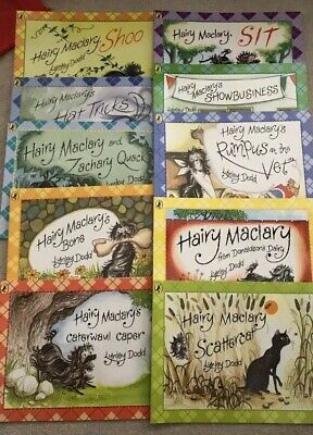 Hairy Maclary Collection Lynley Dodd 10 Books Set New.Christmas/Birthday Gift