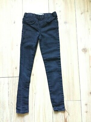 Tammy girls' Black jeans (jeggings) (7-8 years), pre-owned.