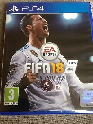 New In Wrapper  Fifa 18 Ps4 Official Licensed Product Delivery Free Uk