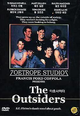 THE OUTSIDERS -Matt Dillon, Tom Cruise PAL ALL REGION NEW SEALED COMPATIBLE DVD