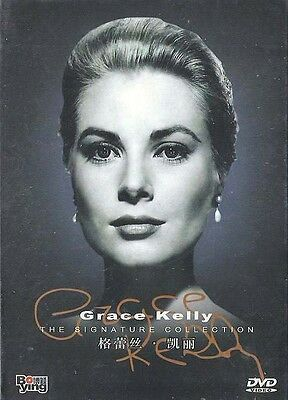 Grace Kelly 6 DVD Box Set All Region Wendell Corey, James Stewart, Thelma Ritter