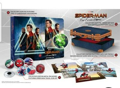 Spider-Man Far from Home (4K UHD + Blu-ray Steelbook) collector's edition