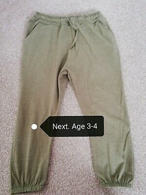 Next hareem trousers age 3-4 years