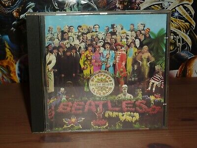The Beatles Sgt. Pepper's Lonely Hearts Club Band CD (1987)