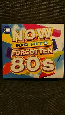 Now 100 Hits Forgotten 80S Cd