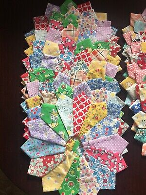 20 Dresden Plate Blocks In Two Sizes Reproduction Fabrics