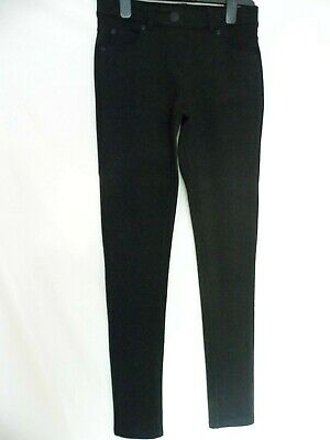 "NEXT Girls Stretch Slim Trousers Jeggings Black - BNWOT - 14yrs 164cm 30"" leg"
