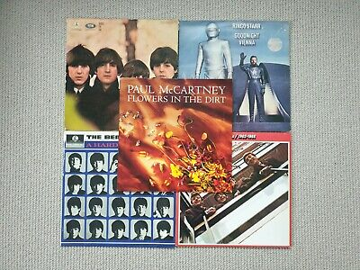 Job lot 5 x The Beatles & related LP vinyl records inc. Hard Days Night For Sale