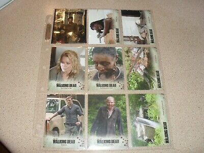 THE WALKING DEAD season 3 part 2 trading card base set