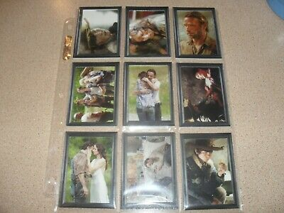 THE WALKING DEAD season 3 part 1 insert card set GF-01 - GF-09