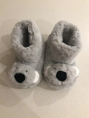 Brand New Unworn Jojo Maman Bebe Koala Slippers Size Infant 9