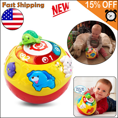 Educational Toys For 6 Months 1 2 3 Year Olds Boy Girl Toddler Crawling Ball New