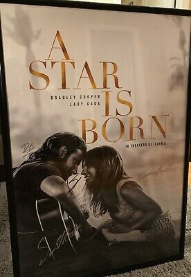 A Star is Born.. ACTUALLY autographed by Gaga, Cooper, Elliot, Baldwin, & more..