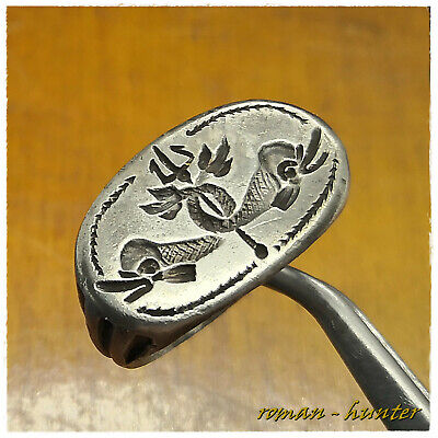 """""""  DOLPHINS & TRIDENT """"  ancient LEGIONARY  SILVER Roman ring !!!!! 12,49g"""