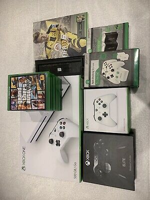 Xbox One Fifa 17 Bundle + Custom Elite Controller And Games