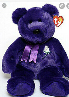Princess Diana Beanie Buddy Large 14 Inches Mint W Mint Tags Great Gift!