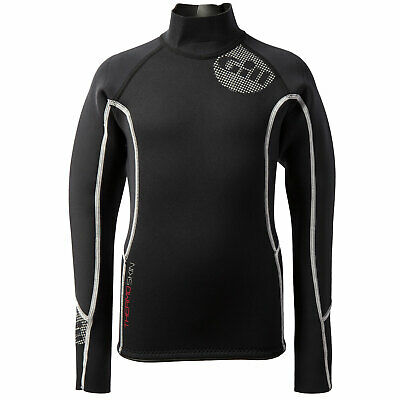 Gill Junior Thermoskin Wetsuit Top - Noir