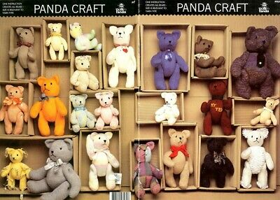 Craft Pattern Leaflet - Knit Teddy Bears Galore!