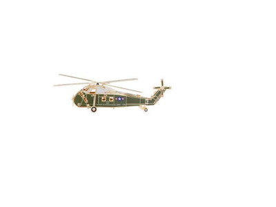 NEW Christmas Ornament 2019 The White House Sikorsky Presidential Helicopter