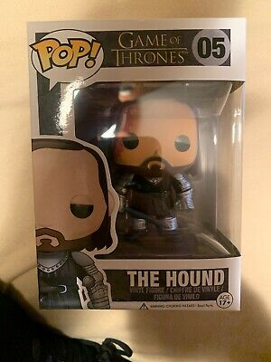 Funko Pop! Game of Thrones The Hound #05 Vinyl Figure WITH PROTECTOR! VAULTED