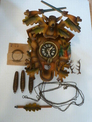 Vintage/antique Cuckoo clock Made in West Germany