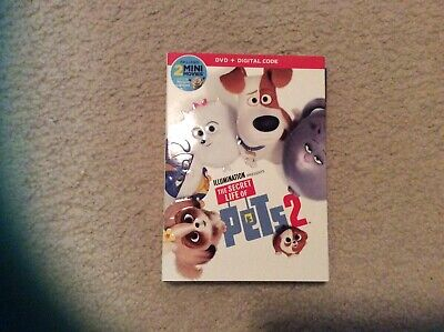 The Secret Life Of Pets 2 Factory Sealed (2019 Dvd) Brand New
