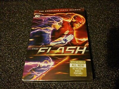 The Flash: The Complete Fifth Season 5 (DVD, 2019) - Sealed
