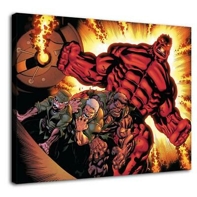 "12""x16""Red Hulk Photos HD Canvas prints Painting Home Decor Picture Wall art"