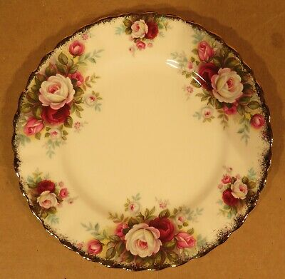 "Royal Albert Celebration 6 1/4"" Bread & Butter Plates / Made in England"