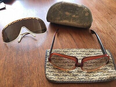 Vintage YSL And Dior Sunglasses