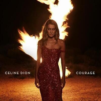 CELINE DION Courage (Deluxe Edition 4 Bonus Track + Foldout Poster) CD NEW