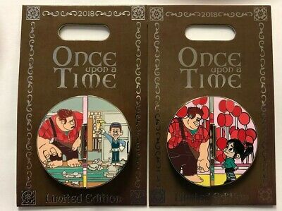 Disney Once Upon a Time Pin Wreck It RalphVanellope Fix-it Felix LE New