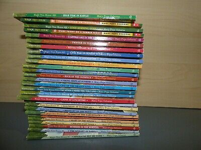 Complete Set 28 Magic Tree House Books by Mary Pope Osborne 1-28