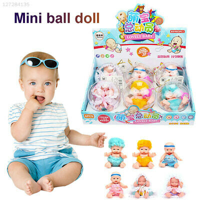 4535 Doll Simulation Pocket Doll Transparent Plastic Ball Palm Doll Ball Toy