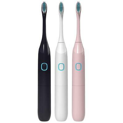 #QZO Ultrasonic Automatic IP65 Waterproof Electric Toothbrush+2pcs Brush Heads
