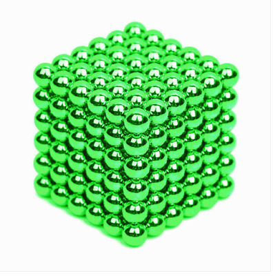 216Pcs 3MM GREEN Mini Magic Magnets Ball Neodymium Sphere Puzzle Cube  32