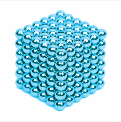 216Pcs 3MM BULE Mini Magic Magnets Ball Neodymium Sphere Puzzle Cube nm