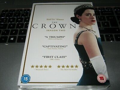 The Crown - Season 2 [DVD]  - New sealed