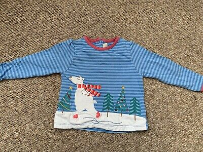 Jo Jo Maman Bebe Polar Bear Long Sleeve Top 12 - 18 Months