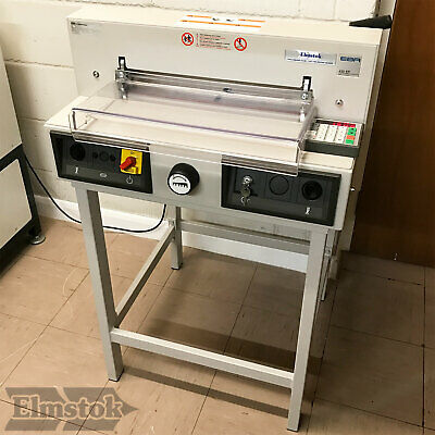 Pre-owned EBA 430EP Electric Programmable Guillotine