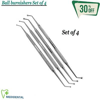 RESTORATIVE Ball Burnishers (Smooth) Composite Filling Instruments Laboratory CE