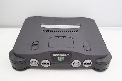 Nintendo 64 Grey Console ONLY (NTSC) REGION FREE PLAYS US & JAPAN GAMES A