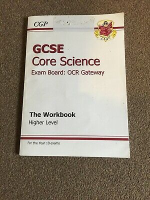 GCSE Core Science AQA A Workbook - Foundation by CGP Books (Paperback, 2001)