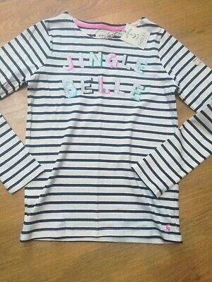 Bnwt Joules Girls Age 11-12 Christmas Top. Jingle Belle.