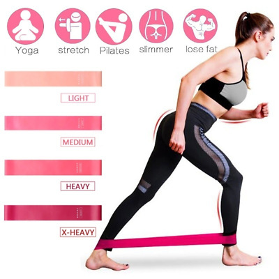 Resistance Band Tube Workout Exercise Elastic Band Fitness Yoga Trainer Loop