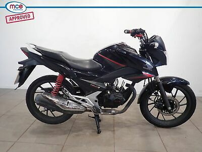 Honda CB 125 GLR Black 2017 Spares or Repairs Restoration Project Donor Bike