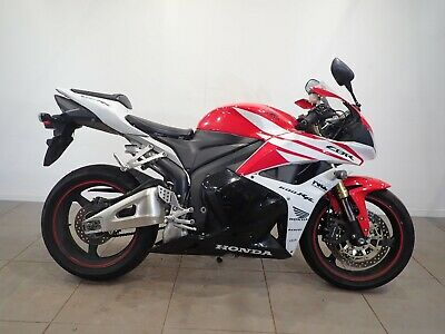 Honda CBR 600 RR 2013 HPI Clear CAT X REPAIRABLE white and red