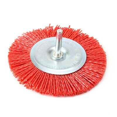 4Inch 100mm Abrasive Wire Brush Wheel For Metal Polishing Rust Remover Deburring