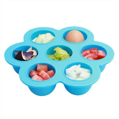 Silicone Baby Food Container Flower Lattice Fruit Breast Milk Storage Box