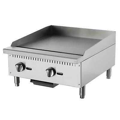"""Falcon Food Service AEG-24 24"""" Manual Gas Griddle w/ 5/8"""" Thick Plate"""